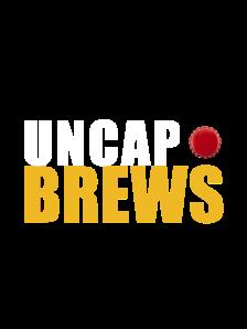 craft beer, logo, uncap brews
